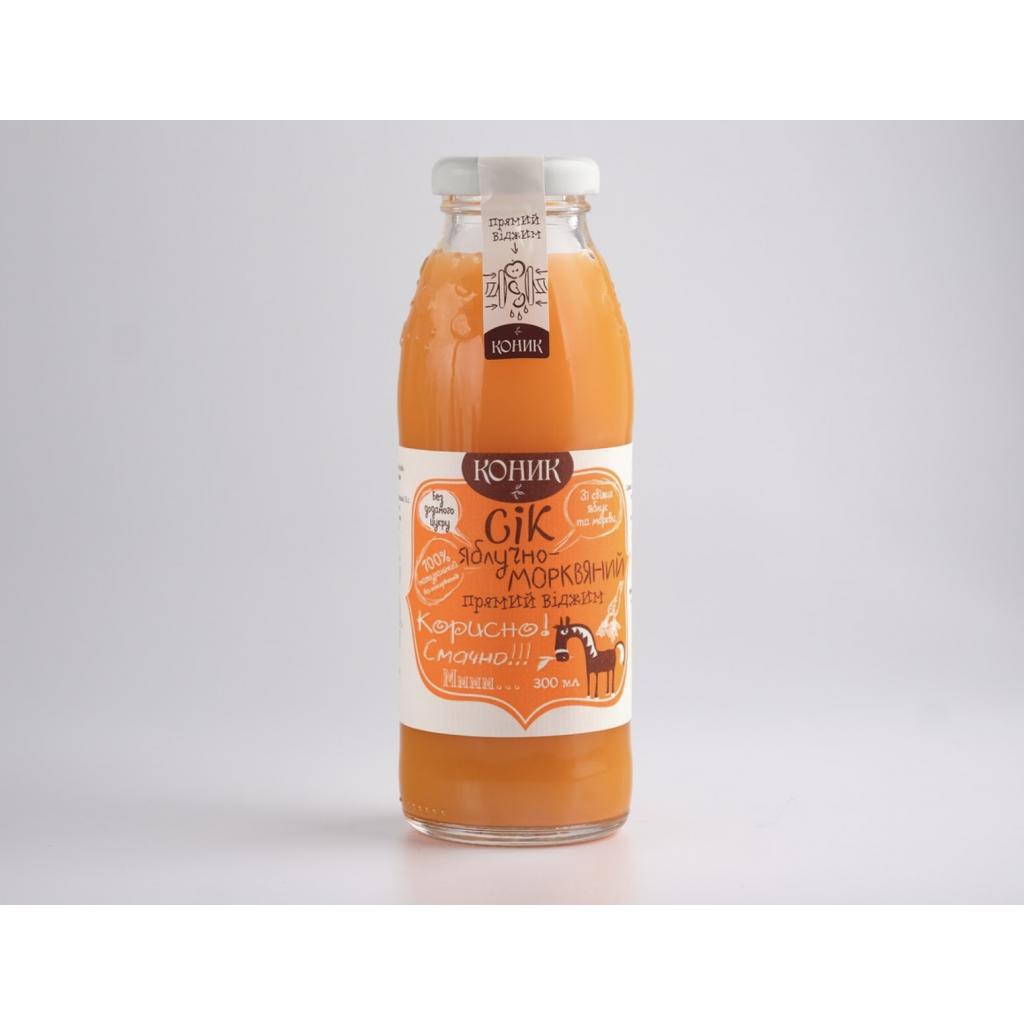 Сік Яблучно-морквяний ТМ Коник 1л від OVO