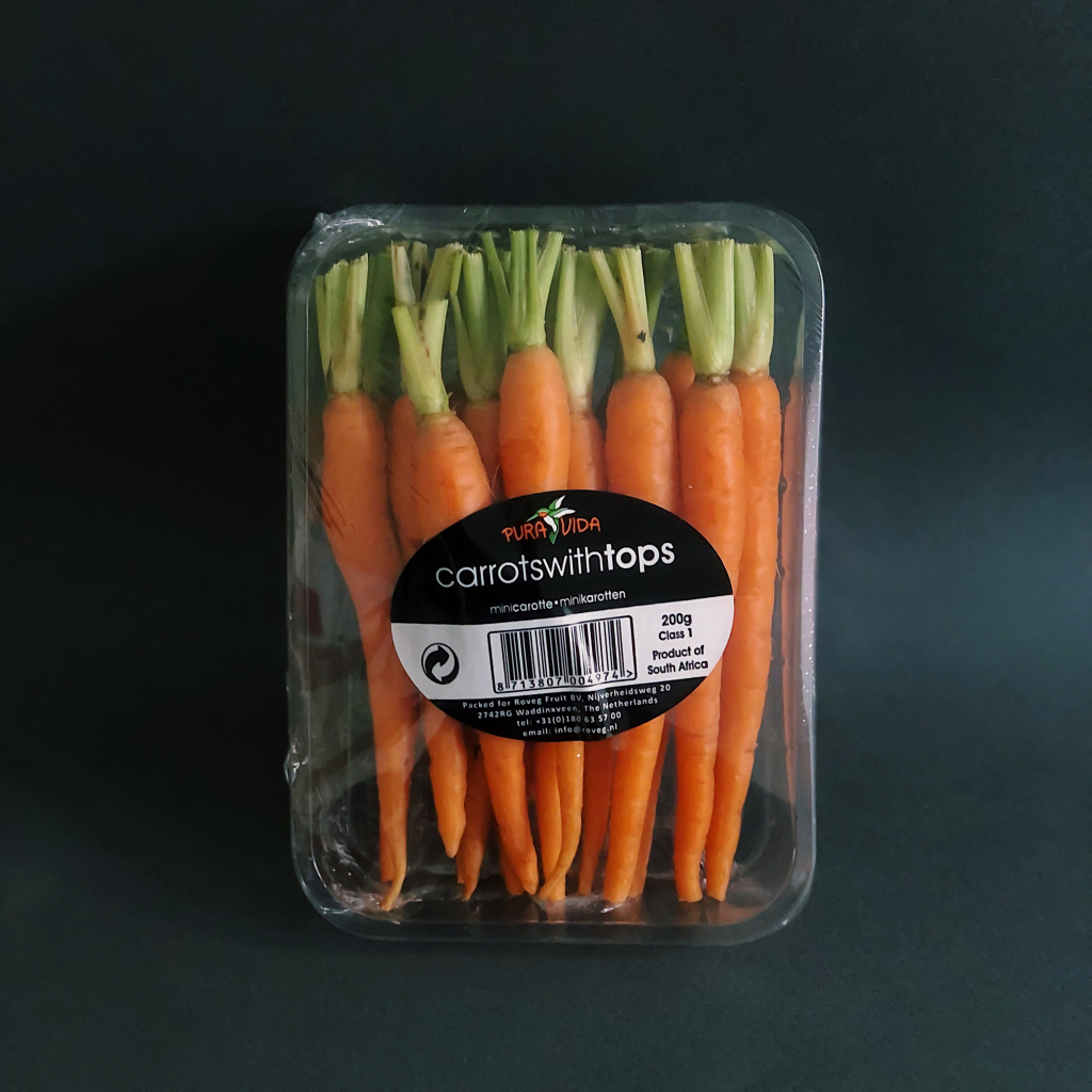 Морква бебі 200г від OVO