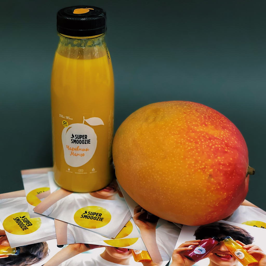 Смузі чарівний манго 250мл від OVO