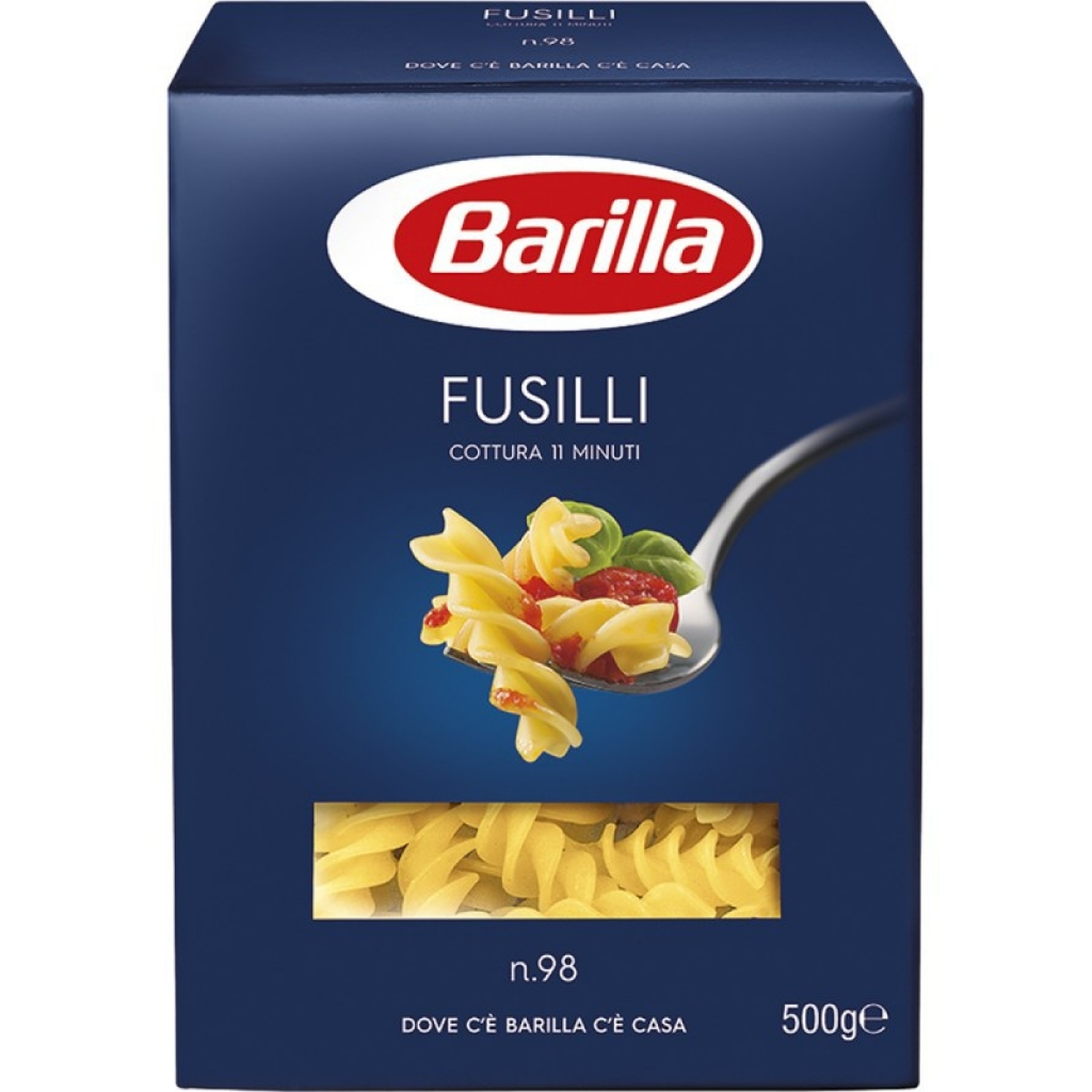 Паста Fusilli Barilla №98 500г від OVO