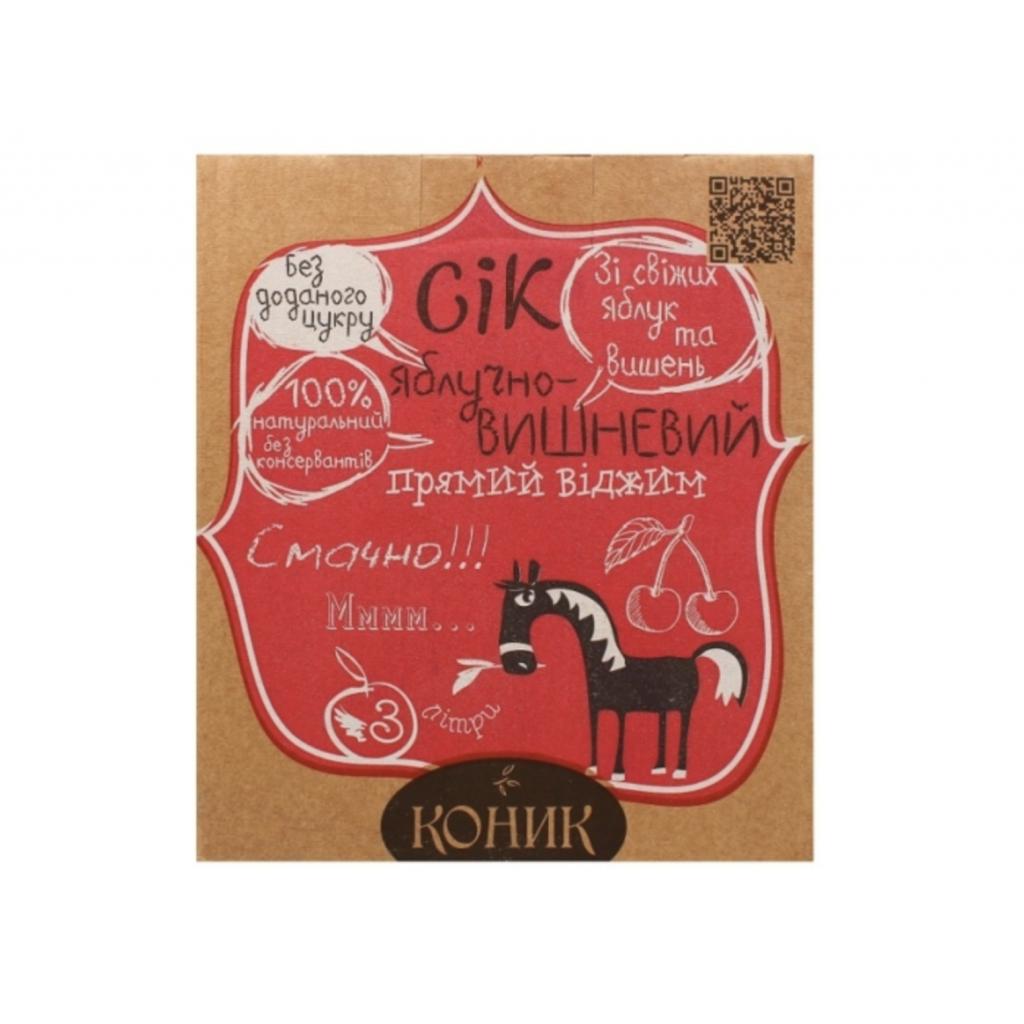 Сік Яблучно-вишневий ТМ Коник 3л від OVO