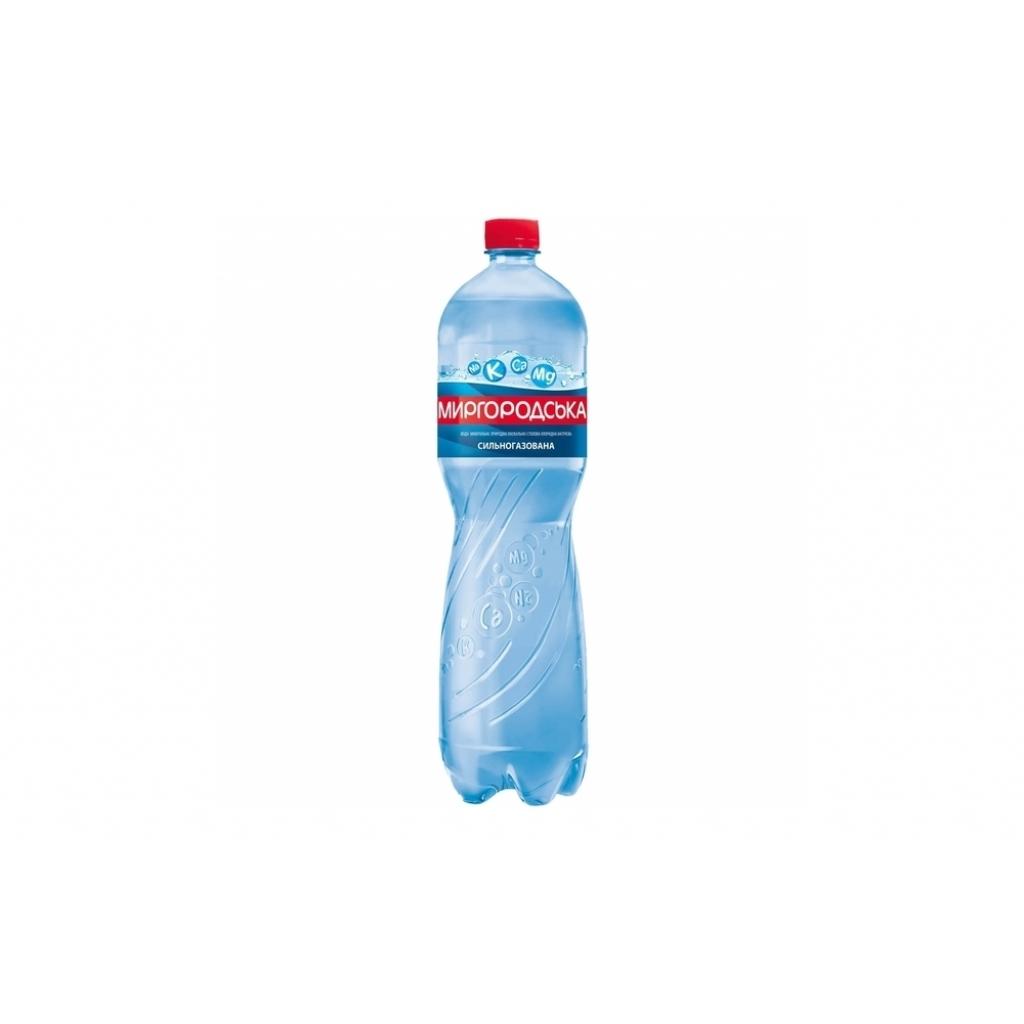 Вода мінеральна Миргородська сильногазована 1,5л від OVO