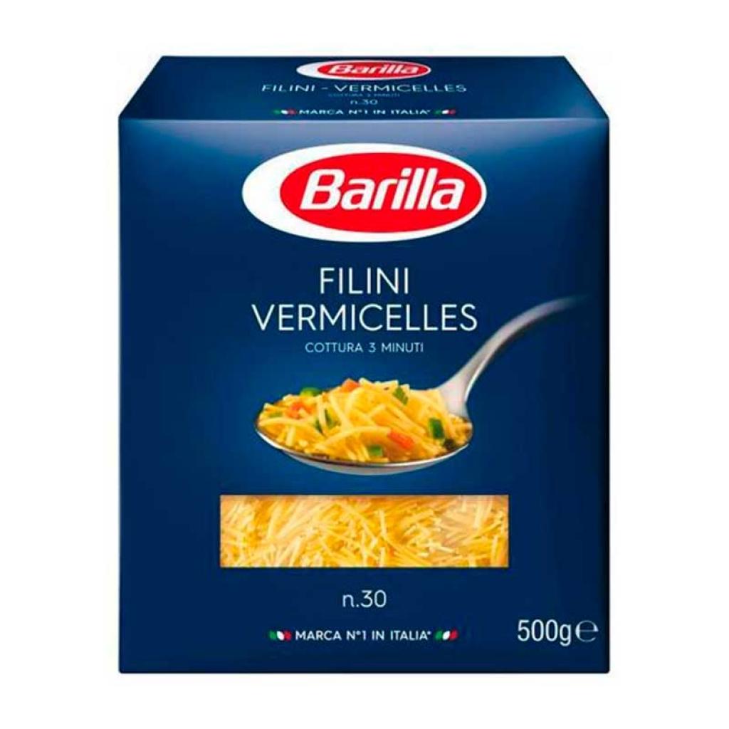 Паста Filini Vermicelles Barilla №30 500г від OVO