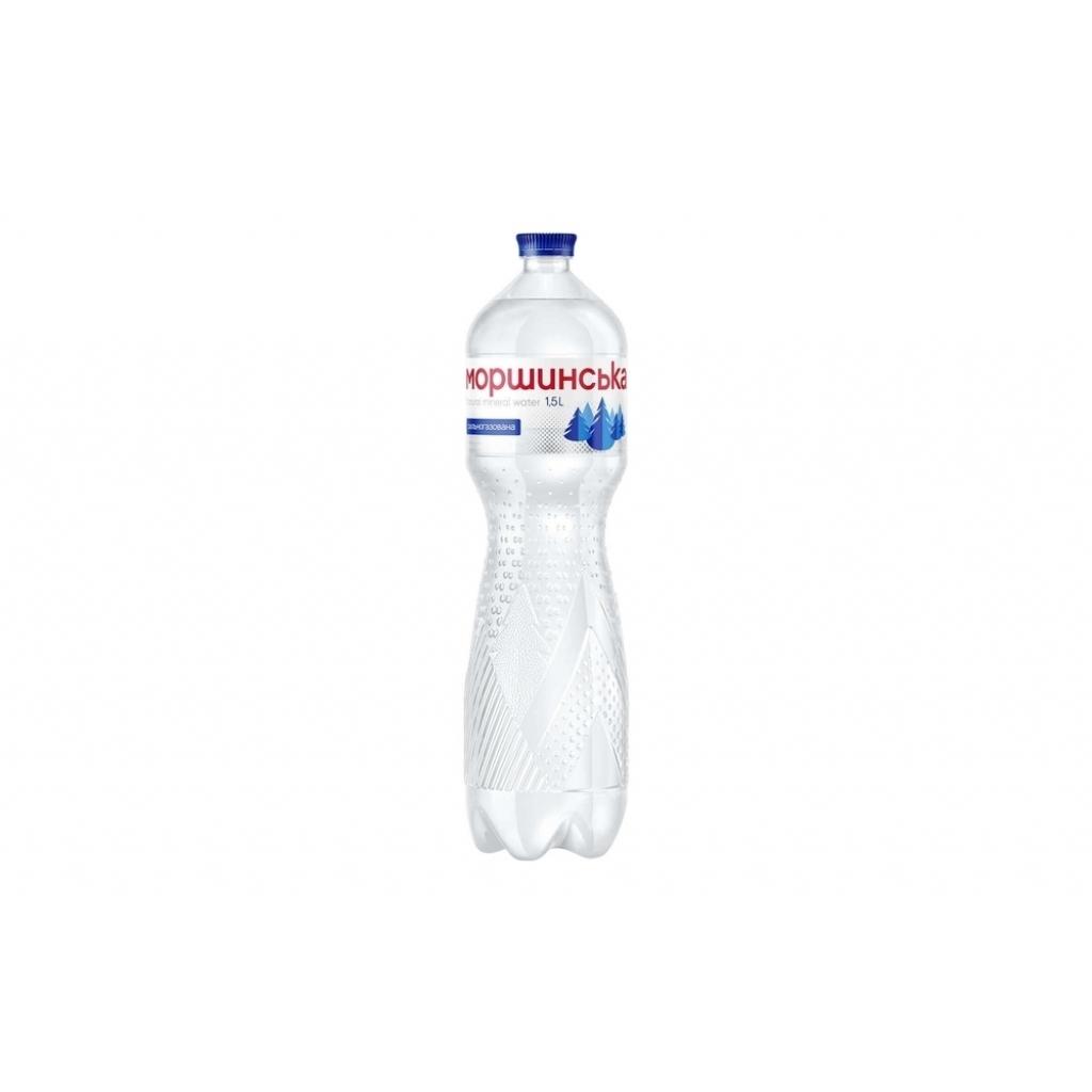 Вода мінеральна Моршинська сильногазована 1,5л від OVO
